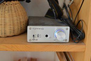 省電力で力持ち。USBで直接つながるTOPPING TP30
