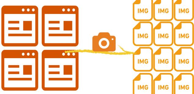 サーバサイドCUIでDOM単位のWebページキャプチャができるpageresの話
