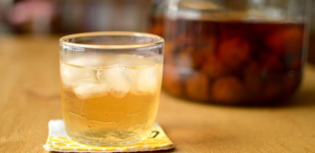 発酵しにくい簡単な梅シロップ・梅ジュースの作り方